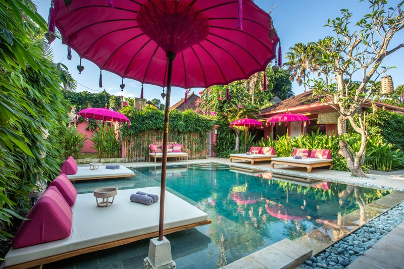 PinkPrivate Sanur - Pool